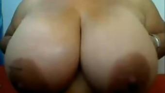 Colombian bbw big boobs girl IX