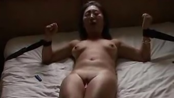 Irish guy fucks Asian slut hard then cums on her face