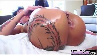 Anal Hardcore Sex With Big Curvy Oiled Butt Slut Girl (bella bellz) mov-07