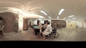 Mistress Minerva & Valentina Bianco in First-Sex Kit: Pussy Inspection - VirtualPorn360
