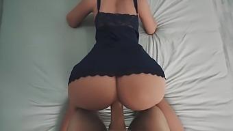 Lina Paige - Hot Dressed Teen Sex Doll Gets Cumshot Pov