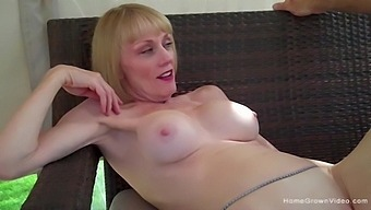 Husband catches his wife playing with another cock