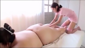 Japanese BBW's Attractive Massage therapy