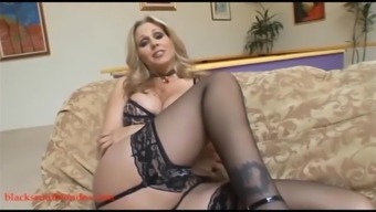 light mother milf cogar gets pussy ruined by addict black phallus