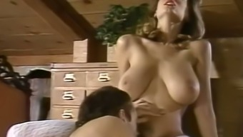 Big tits and grandiose light milf blowing dick of their partner