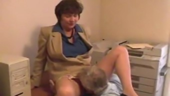 Workplace Pussy Eating