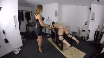 Mistress First times v Beating Her machine