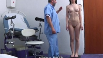 Timea Gyno Examination - anal passage and vaginal area inspection before speculum insertion