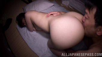 Alluring Japanese Love Along with a Great Ass Getting Her Tight Asshole Licked