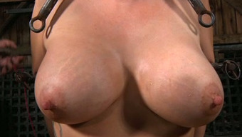 Great boobed surrounded bitch needs to suffer with like she s in hell