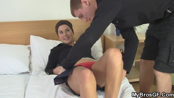 His wife stinks and tours another cock!