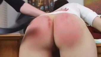 Spanked along with Belt 2(two)