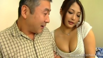 Aoi Miyama rubbing her pussy on any public train in stockings