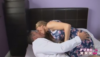 Light haired horny MILF with the use of great the fake counters boobs treasures advertize the act of oral sex back with her partner