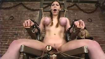Mallory Knots gets grimly fucked by using instinctively driven belongings in BDSM inhibit