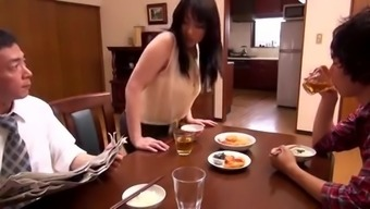 Heated japanese mothers-in-law