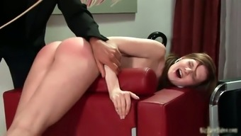 Nasty schoolgirl infant gets spanked very difficult part5