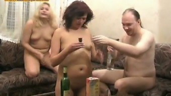 Evil Czech bloke with a couple of grow older girls Milly and Fay