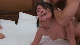Adria Rae gets seriously fucked beside her mum