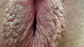 amazing closeup of a new pussy