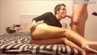 Rectum Sex By using Minimal Haired Horny German born Chicken