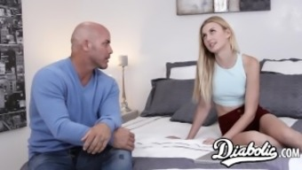 Stunning youngster Alexa Style pussy high and given along with orgasm