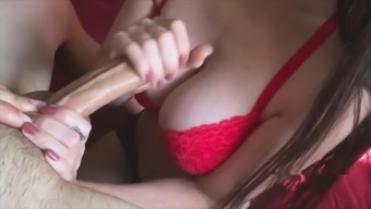 Handjob After college Before Mom's House