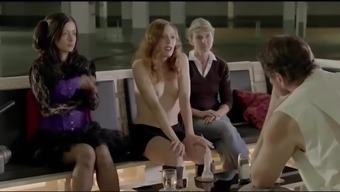 Nude Celebrities Antje Mönning & Agnes Thi-Mai Blowjob And Cum Shoot Scenes