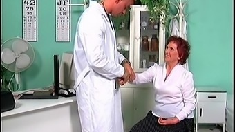 Her doctor strips for Tina and takes her pussy insatiably